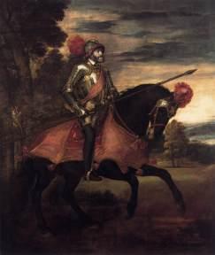 Titian_Equestrian Portrait of Charles V